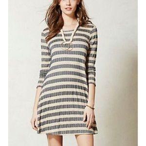 Anthro Puella A line striped swing dress